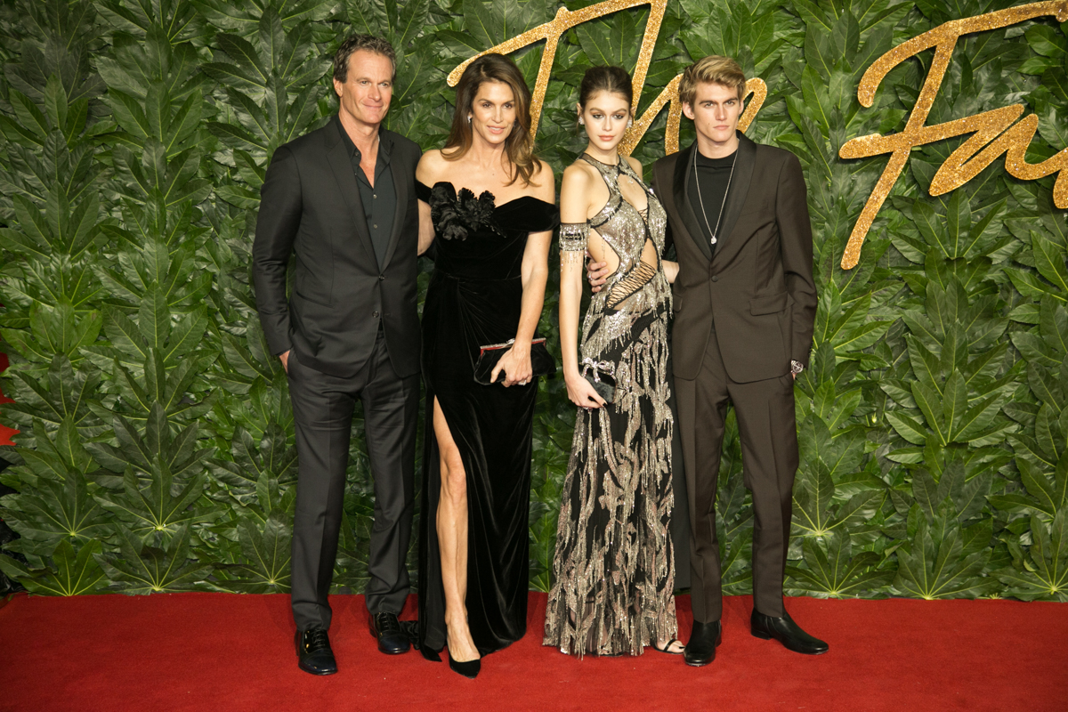 Cindy Crawford and family at Fashion Awards by Lensi Photography