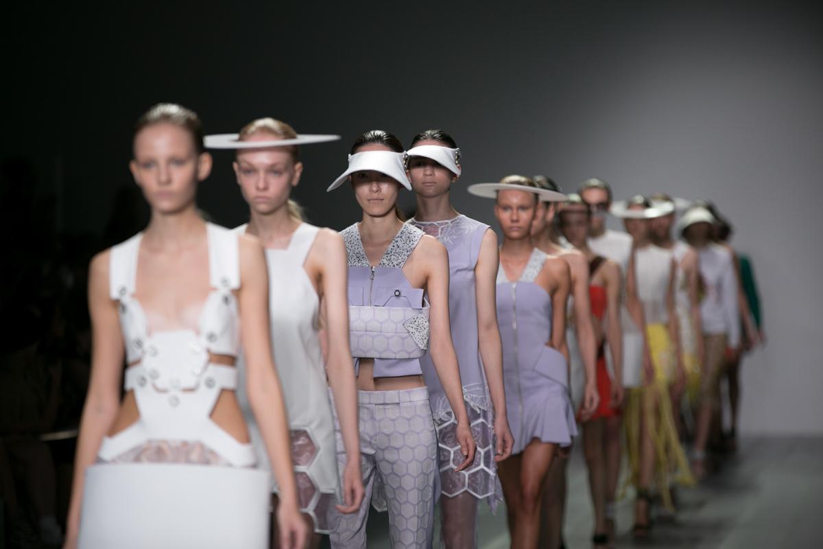 Kaan Yildirim catwalk by Lensi Photography London Fashion Week