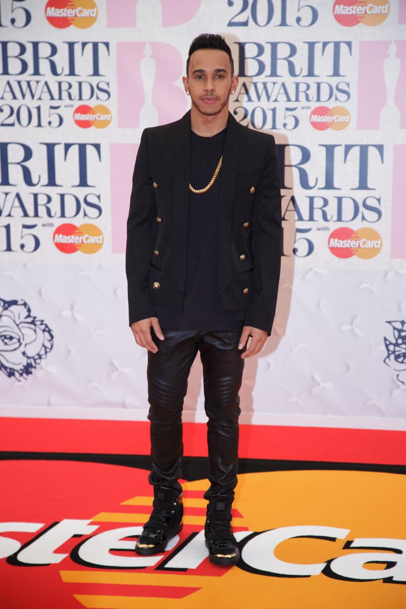 Lewis Hamilton at Brit Awards by Lensi Photography