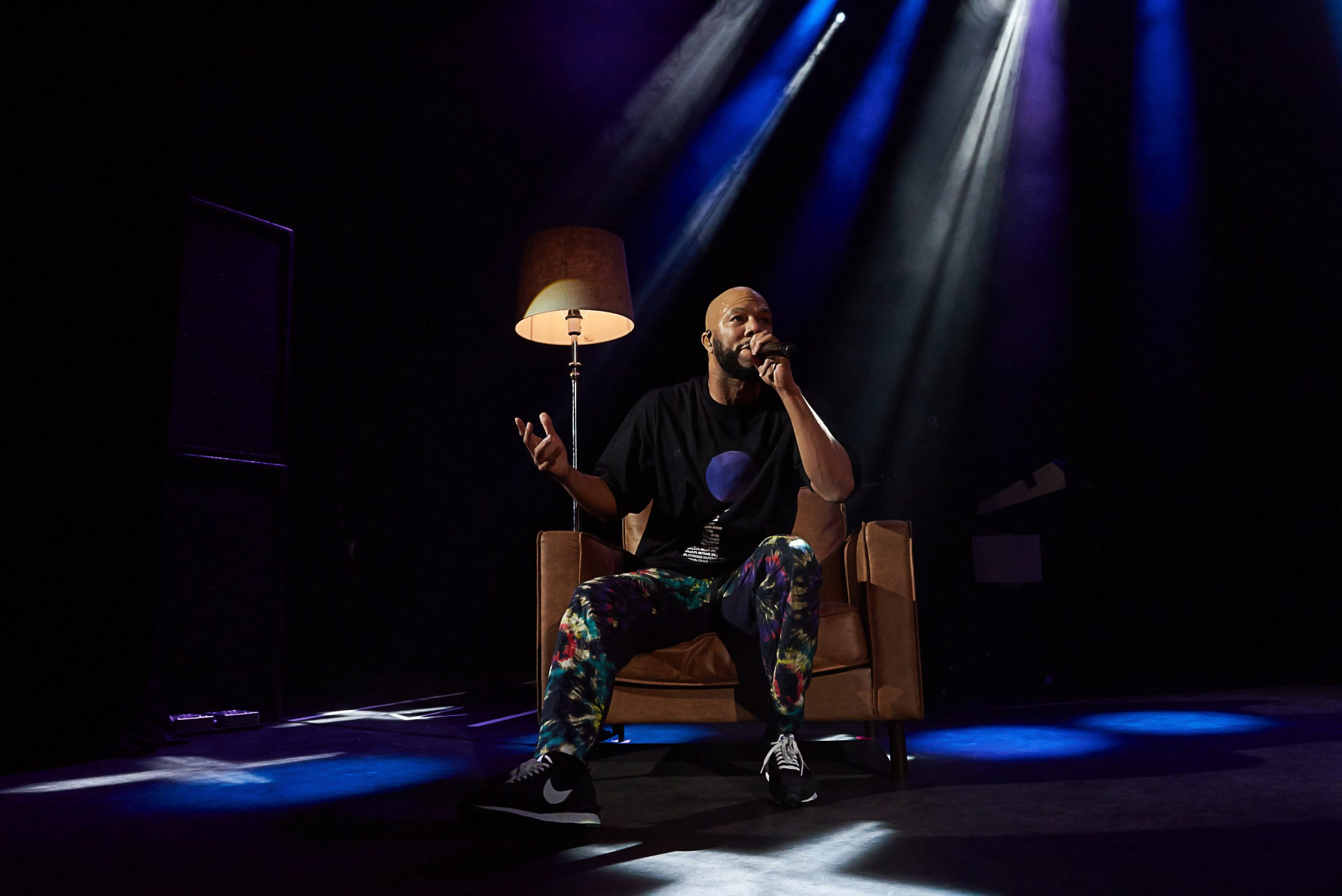 American rapper, actor, writer, philanthropist, and activist Common (aka Common Sense) performs his new album Let Love at Shepard's Bush Empire on Sept 10th, 2019, in West London.
